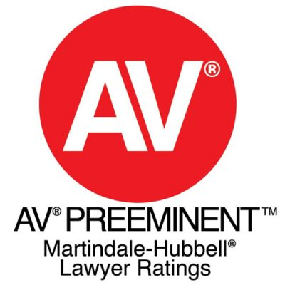 Martindale Hubbell Rating | Frank McDermott Law