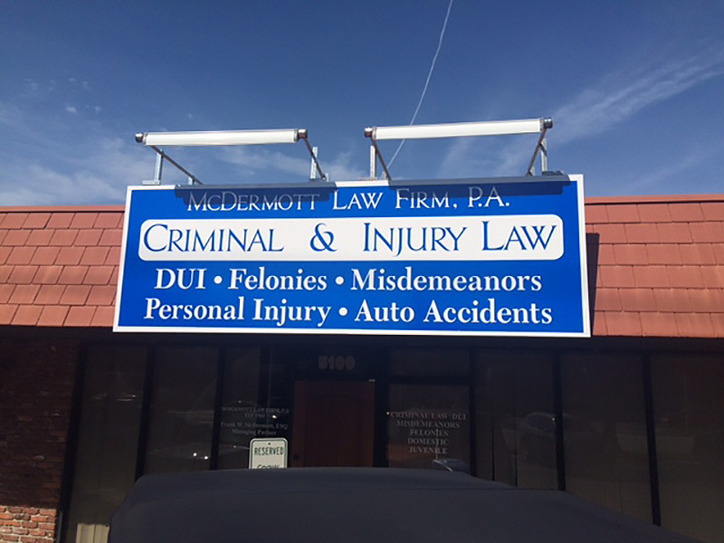 Office Exterior of McDermott Law Firm